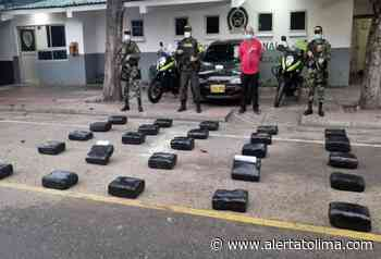 ¡Alijo! Sorprendieron conductor transportando 129 kilogramos de marihuana en Coyaima - Alerta Tolima