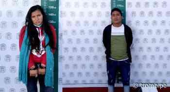 Abancay: chica y su enamorado caen con 4 'ladrillos' de cocaína dentro de un maletín - Diario Trome