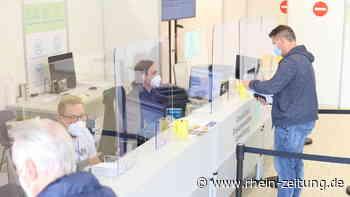 Unternehmen zum Schutz vor Corona: Im Impfzentrum in Lahnstein arbeiten mehr als 100 Menschen - Rhein-Zeitung