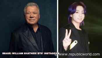 William Shatner reacts to BTS Jungkooks claim of creating Star Treks Vulcan salute - Republic World