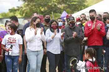 Vicepresidenta Delcy Rodríguez visitó Base de Misiones en Zuata - Diario El Siglo