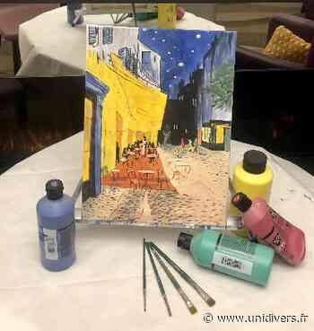Peindre à la manière de Vincent van Gogh Trait d'Union jeudi 27 mai 2021 - Unidivers