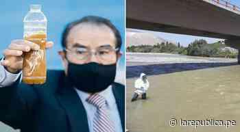 Arequipa: decretan Estado de Emergencia por contaminación del río Tambo - LaRepública.pe