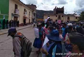 Ayacucho: Movilizaciones demandan la vacancia del alcalde de Tambo - INFOREGION