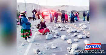 Moquegua: Comuneros bloquean puente por contaminación en río Tambo - exitosanoticias
