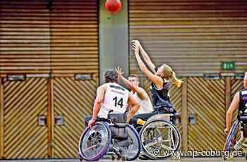 Behindertensport: Im Rollstuhl auf der Jagd nach Punkten - Neue Presse Coburg - Neue Presse Coburg