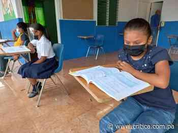 Escuela multigrado en Pedregal está lista para impartir clases semipresenciales - Crítica Panamá