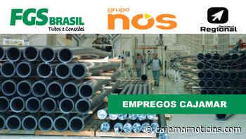 FGS Brasil, em Cajamar, abre vagas de empregos para ajudante de extrusão - Cajamar Notícias