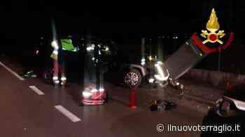 Incidente a Casier in via delle Industrie - Treviso - Il Nuovo Terraglio