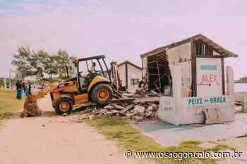 Justiça Federal determina demolição de mais um quiosque na Praia das Conchas, em Cabo Frio - O São Gonçalo