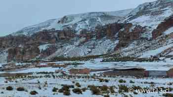 Tarapacá: Onemi informa cierre de ruta que une Chile y Bolivia por intensa nevazón - Teletrece