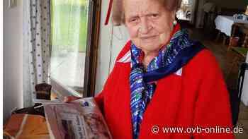 """Maria Steiner feiert ihren 100. Geburtstag: """"Die Molln wollte ich nie sein"""" - ovb-online.de"""