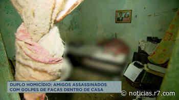 Amigos são assassinados a facadas dentro de casa em Vespasiano (MG) - HORA 7
