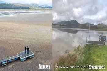 Lagua de Suesca se recupera de tormentosa sequía - Noticias Día a Día