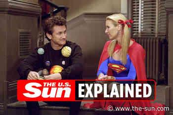 When was Sean Penn on Friends?... - The US Sun