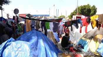 Ya son 100 días del campamento El Chaparral - Síntesis Tv