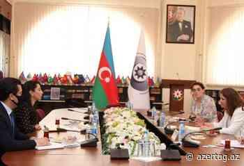 Defensora del Pueblo de Azerbaiyán plantea la cuestión de las minas ante los representantes del CICR - AZERTAC Espanol
