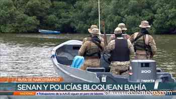 Ruta del narcotráfico en Bahía Las Minas - Telemetro