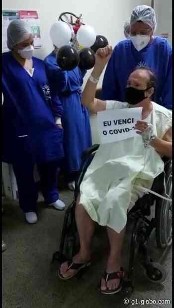 Prefeito de Ouro Branco internado com Covid deixa UTI e vai para quarto de hospital: 'Estou vencendo' - G1