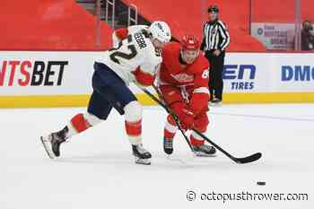 Red Wings Assign Brome, Cholowski, Lindstrom to Taxi Squad - Octopus Thrower