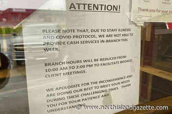 CIBC in Port Hardy operating on reduced hours due to non-COVID related illness – North Island Gazette - North Island Gazette