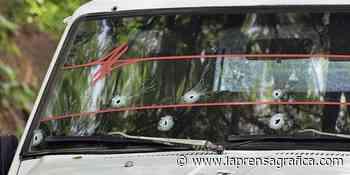 Ganadero atacado a balazos en Moncagua - La Prensa Grafica