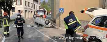 Pusiano, auto si ribalta Paura davanti alla chiesa - Cronaca, Canzo - La Provincia di Como