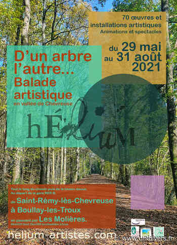 D'un arbre, l'autre… Balade artistique en Vallée de Chevreuse Gare RER Route de Limours 78470 Saint-Rémy-lès-Chevreuse samedi 29 mai 2021 - Unidivers