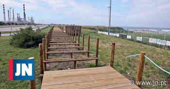 Arranjo do passadiço da Praia do Aterro, em Matosinhos, não é ″prioritário″ - Jornal de Notícias