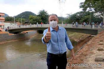 Casagrande inaugura ponte em Alfredo Chaves - Jornal FATO