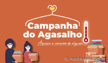 Esteio promove segundo drive-thru da Campanha do Agasalho - Revista News