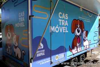 Esteio agora tem uma unidade móvel para castração de animais - Jornal NH