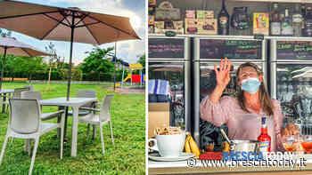 Ha aperto il nuovo chiosco: caffè e aperitivi nel verde del parco - BresciaToday