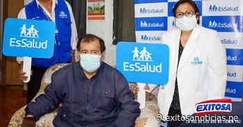 Huaraz: trabajador de hospital vence a la covid-19 tras permanecer un mes en UCI - exitosanoticias