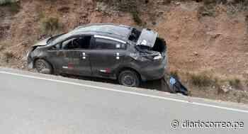 Policía murió en trágico accidente en la vía Juliaca-Rinconada - Diario Correo