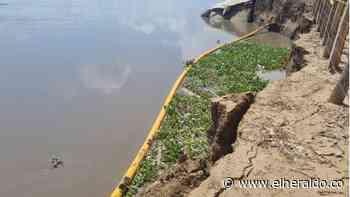Avanzan las obras de estabilización en Salamina y piden recursos adicionales - EL HERALDO
