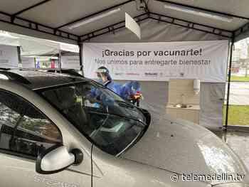 Abren nuevo punto de vacunación multivehicular en Rionegro - Telemedellín