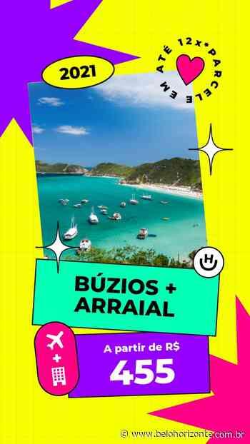 Pacote Búzios + Arraial do Cabo por R$ 455 para o Segundo Semestre – 2021 com Aéreo + Hospedagem Menor preço garantido - Belo Horizonte