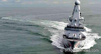 Reino Unido rejeita alegações russas sobre incidente com HMS Dragon perto da Crimeia - Sputnik Brasil
