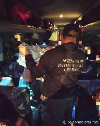 FGR rescata a 10 menores y 28 adultos guatemaltecos en Cosamaloapan | PalabrasClaras.mx - PalabrasClaras.mx