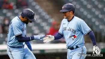 Amid heavy wind, blowing rain, Jays trounce Cleveland in weather-shortened affair