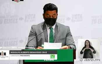 Ofrece Rodolfo Benavidez consolidar el equipamiento público en la ciudad - El Diario