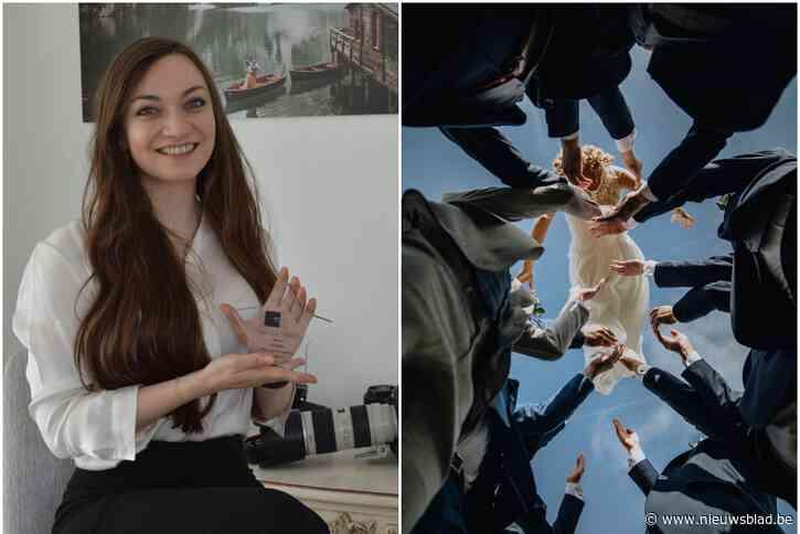 """Raïs (26) wint als eerste landgenote prestigieuze prijs, en ze doet dat met drones en rookbommen: """"Als het moet, ga ik er met mijn knieën voor door het slijk"""""""
