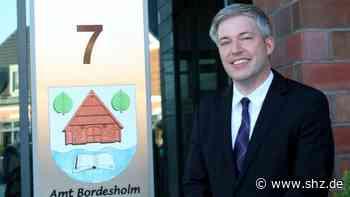 Bordesholm: Patrick Vahle ist der neue Büroleiter im Rathaus | shz.de - shz.de