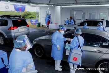Minsa: en el auto rápido de Penonomé se han aplicado mil 580 dosis de AstraZeneca - La Prensa Panamá