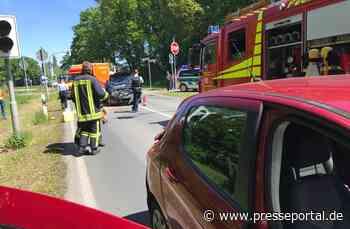 FW Kranenburg: Verkehrsunfall am Draisinenübergang - Presseportal.de