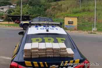 PRF apreende 26 Kg de crack escondidos em automóvel em Leopoldina - DeFato Online