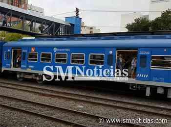 """""""Estampida"""" y heridos en la estación de Hurlingham del tren San Martín - SMnoticias"""