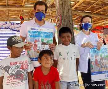 Tanques plásticos y kits educativos entregó MinVivienda, en comunidad indígena de Manaure - La Guajira Hoy.com