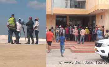 Personería de Manaure y Alcaldía, vitales en que bloqueo en Sama Ltda se terminara - Diario del Norte.net